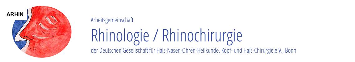 ARHIN: AG Rhinologie/Rhinochirurgie